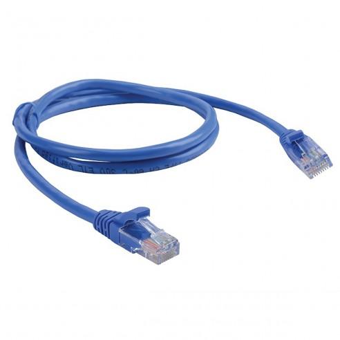 Patch Cord Cat 5E Powest 3ft (1m) Azul