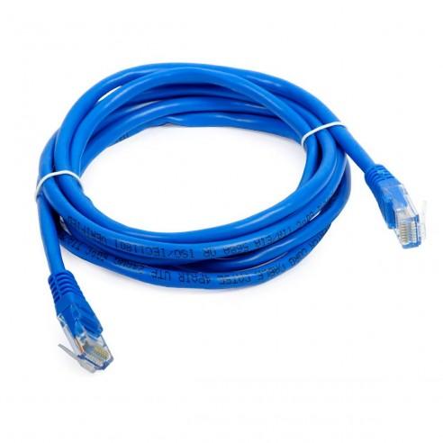 Patch Cord Cat 5E Powest 10ft (3m) Azul