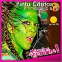 Kit Pintu-Caritas Maquillaje PintaCaritas Paint Face para Halloween