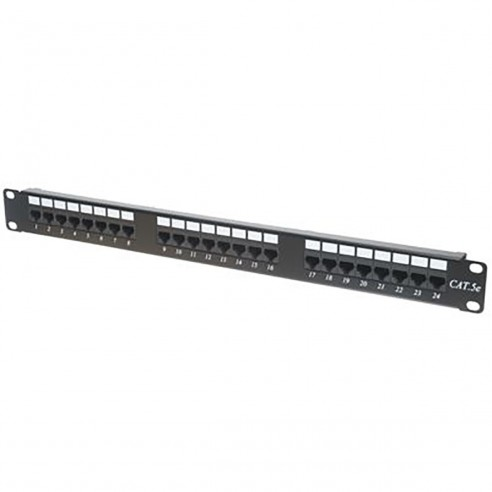 Patch Panel Cat 5E de 48 Puertos 2U Powest