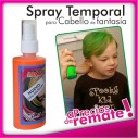 Tintura en Laca Temporal en Colores para Cabello y Mechas Spray Color