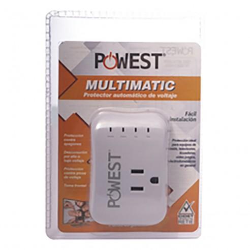 Protector de Voltaje 120V/10A MultiMatic