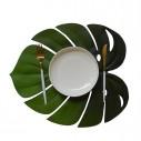 Individuales de Hojas tropicales en Silicona Reutilizable