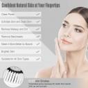 Limpiador facial Facial Cleansing Brush, Rechargeable Face Brush Massager
