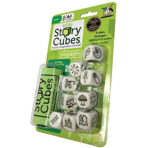 Rory's Story Cubes Voyage Verde
