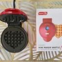 Mini máquina Para Hacer Wafles Individuales Galletas De Pizza
