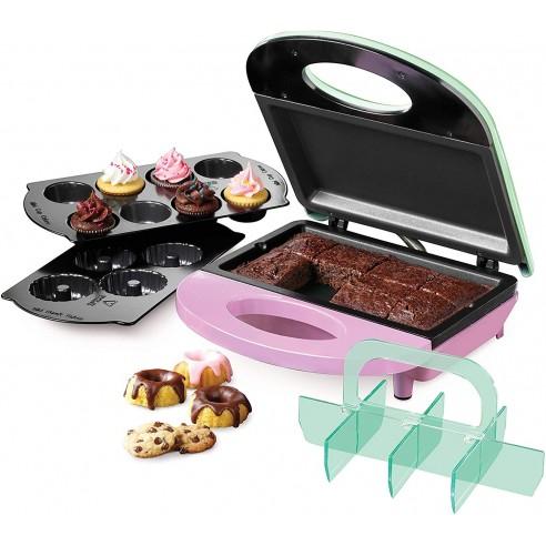 Máquina Cupcakes Nostalgia Muffins Cinnamons Pancakes