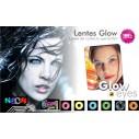 Lentes contacto UV Glow Crazy Neón Magic Amarillo
