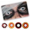 Lentes Halloween Crazy RedBull Eye Dark Target