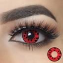 Lentes Crazy Blood Shot Red Sangre Halloween