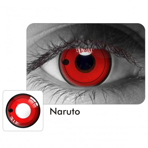 Lentes Locos Naruto Sharingan Crazy Lentes Halloween