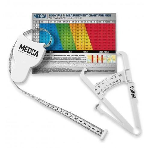Kit Fitness Control Adipómetro Cinta Métrica medidores grasa corporal