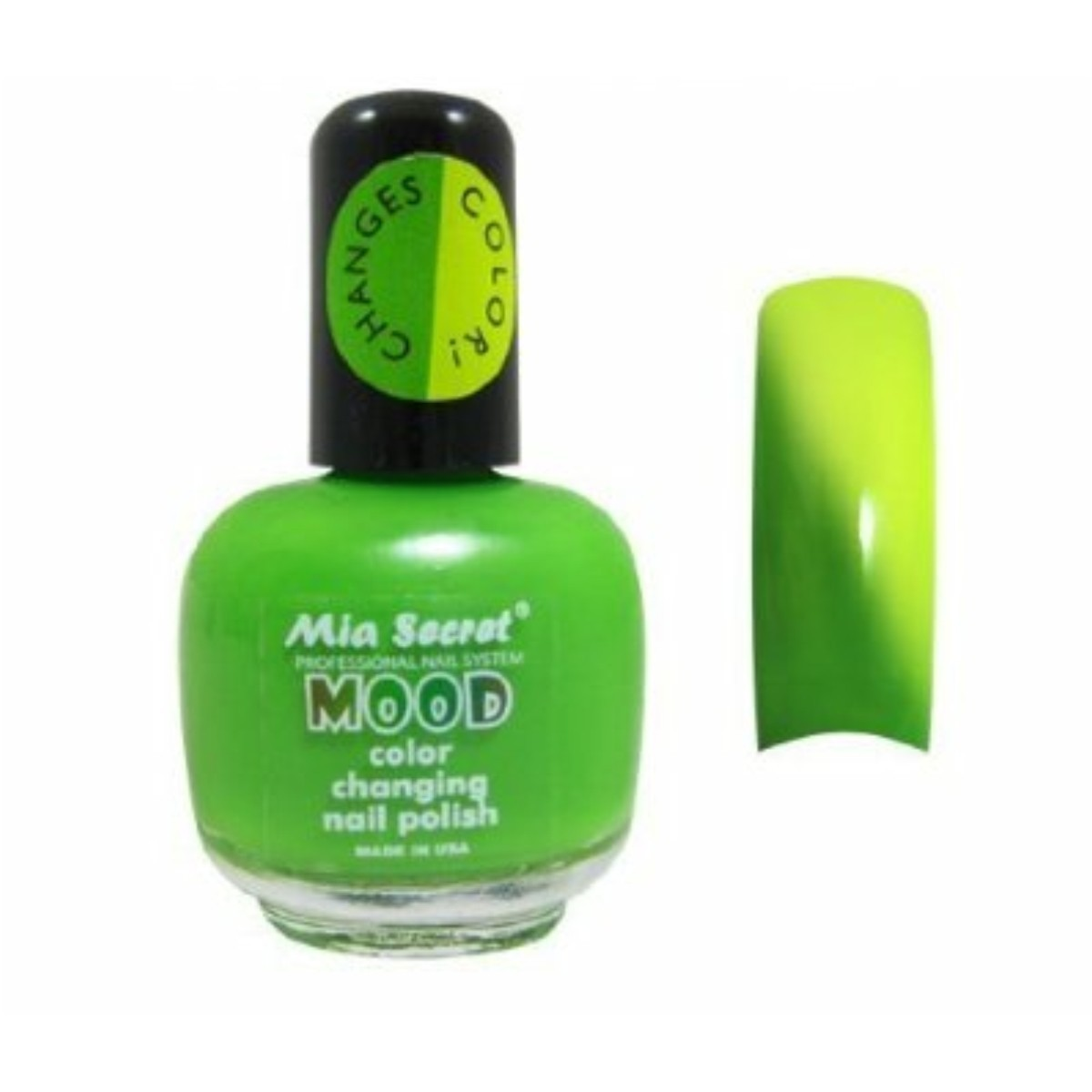 Esmalte para Uñas Mia Secret Mood cambia de color con la temperatura