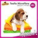 Toalla de Microfibra ultra absorbente para Baño de Mascotas