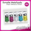 Esmalte Metálico Nabi, Alto Brillo nuevos colores