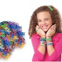 Repuesto de Bandas Loom band x 600u y 25 broches
