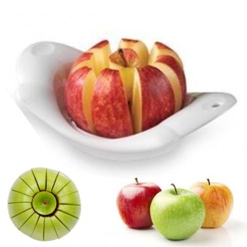 Pelador de la piel y Rebanador de Manzana y cítricos, corta y porciona