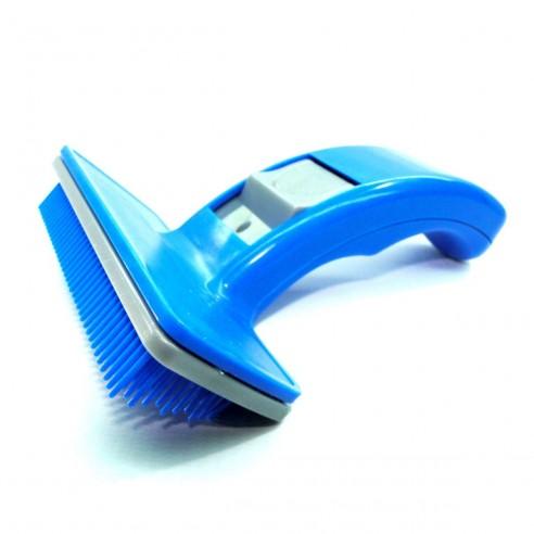Cepillo Automatico Grande para Mascotas, los pelos se desprenden automáticamente
