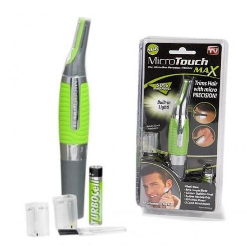 Micro afeitadora Touch Max depiladora portatil para hombre rasurador