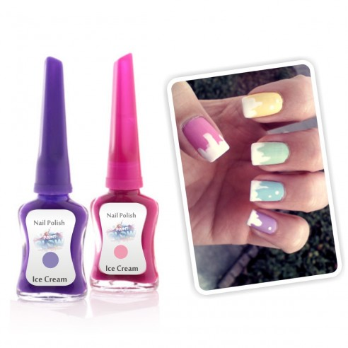 Esmalte Ice Cream colores pastel, candy, helado