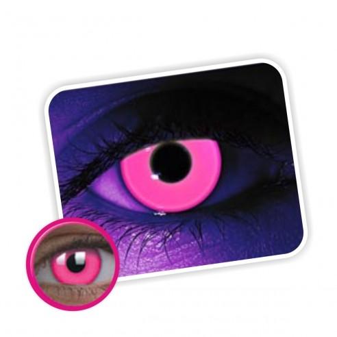 Lentes contacto UV Glow Crazy Neón Magic Pink Rosado