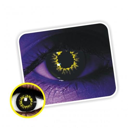 Lentes contacto UV Glow Crazy Neón Magic Diabolic