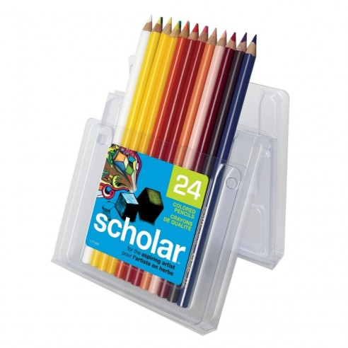 Prismacolor Scholar por 24 Uni Caja de Lápices de Colores
