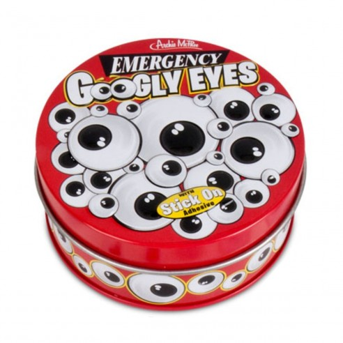 Divertidos Googly Eyes Emergency x40u decora con los ojos para todo