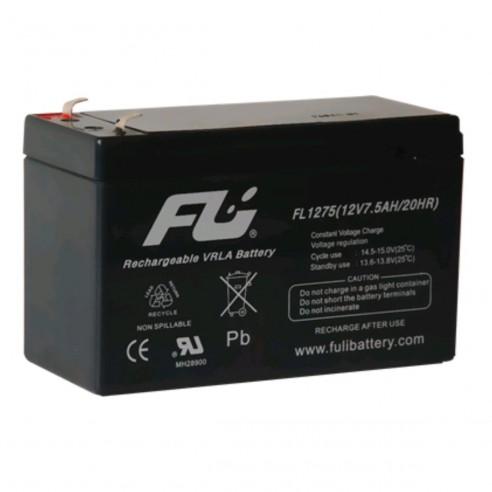 Batería Sellada FuliBattery 12V-7.5AH Ref. FL1275GS