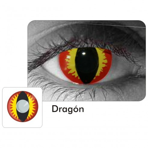 Lentes Locos Crazy Dragon Crazy Lentes Halloween