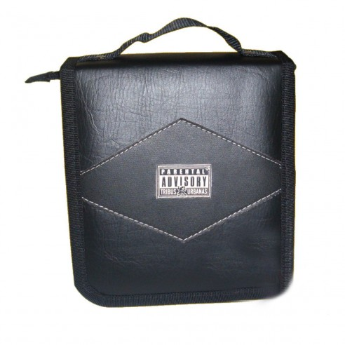 Estuche Clase Cuero Porta-cd x30