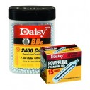 Combo AirSoft 2400 Balines Daisy 4.5mm + 15 Pipetas Daisy Co2 de 12gr