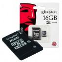 16gb Memoria Microsd Kingston Micro Sd y adapt a SD 16gb