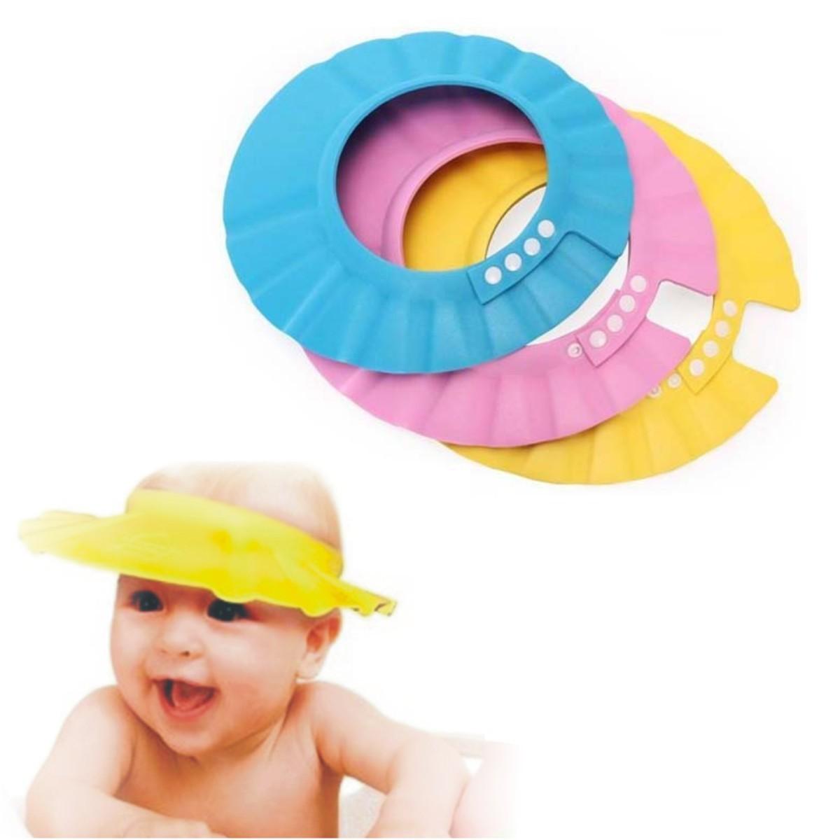 gorro visera de ducha para ba o beb ni o protege sus ojos