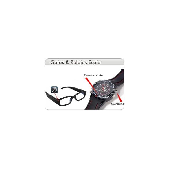 SpyCam Gafas & Relojes