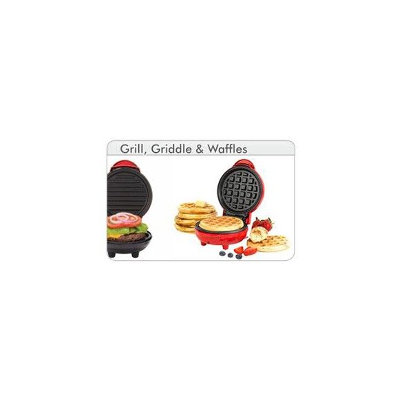 Grill, Gridle & Wafles